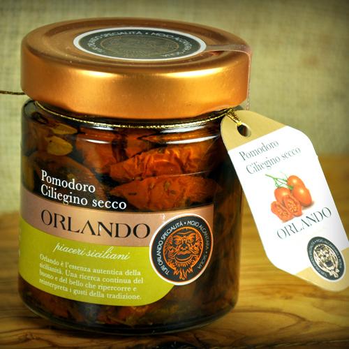 Sicilian Dry Cherry Tomato in extravergin olive oil