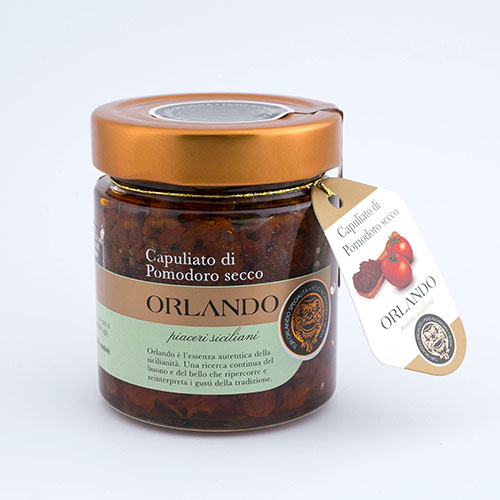Capuliato of dried Tomatoes