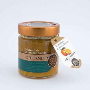 Marmellata di Arancia Bionda Siciliana vaso 220 gr