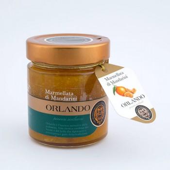 Marmellata di Mandarini Siciliani vaso 220 gr