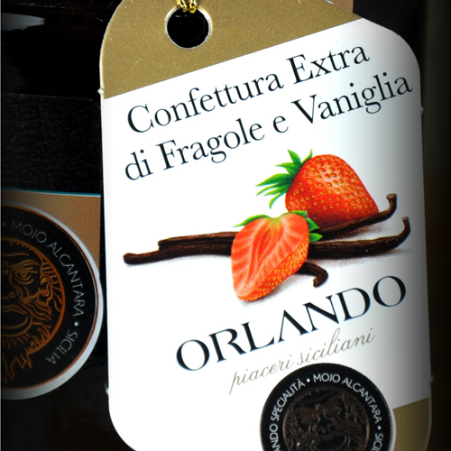Extra Jam of Strawberry and Vanilla