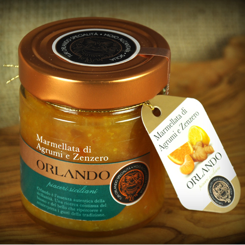 Marmalade of Citrus Fruits with Ginger