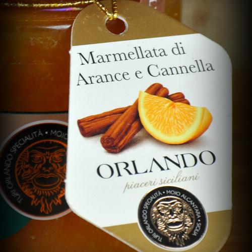 Orange Marmalade and Cinnamon