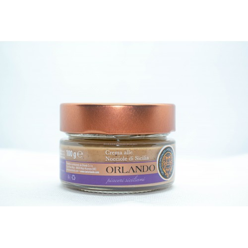 Hazelnut cream 100 gr Jar