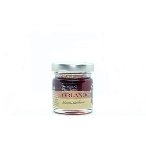 Red Wine Jelly  40 g jar