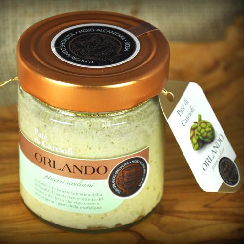 Patè di Carciofi vaso 220 gr