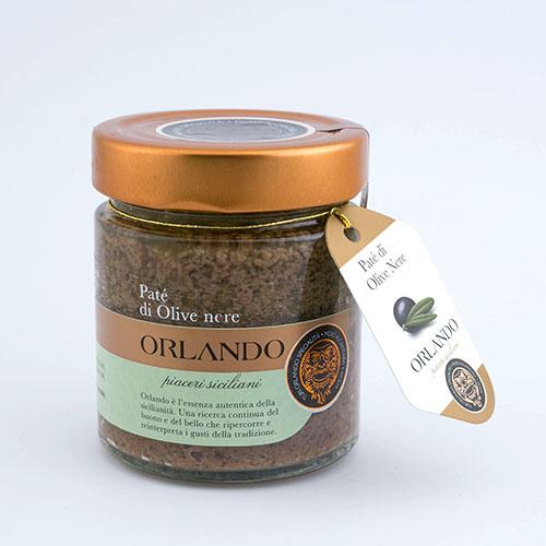 Patè di Olive Nere vaso 220 gr