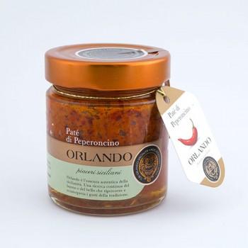 Patè di Peperoncino vaso 220 gr