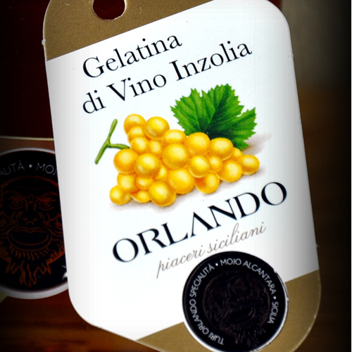 Gelatina di Vino Inzolia vaso 220 gr