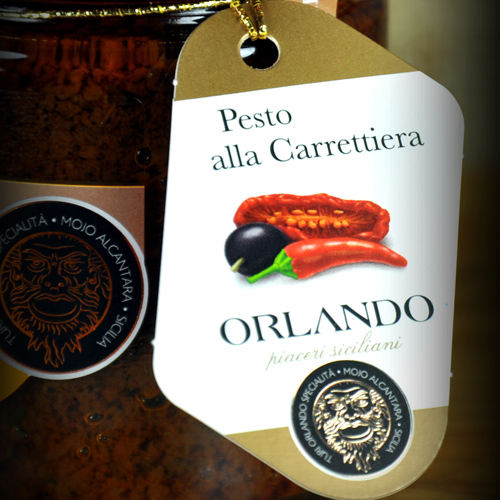 Pesto alla Carrettiera vaso 220 gr