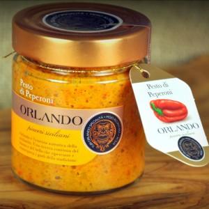 Pesto di Peperoni vaso 220 gr
