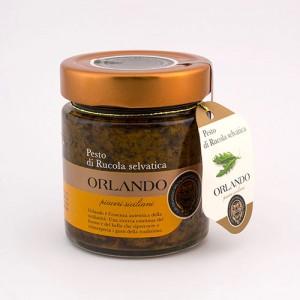 Pesto di Rucola Selvatica vaso 220 gr