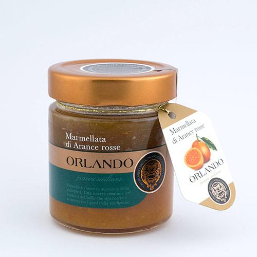 Marmellata di Arancia Rossa Siciliana vaso 220 gr