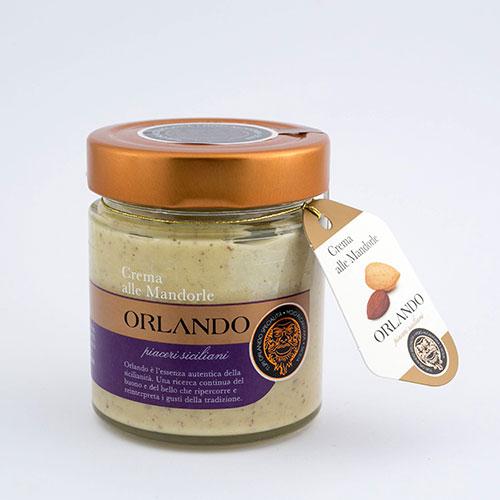 Crema alle Mandorle vaso 220 gr