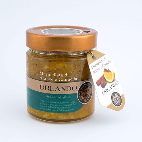 Marmellata di Arance e Cannella vaso 220 gr