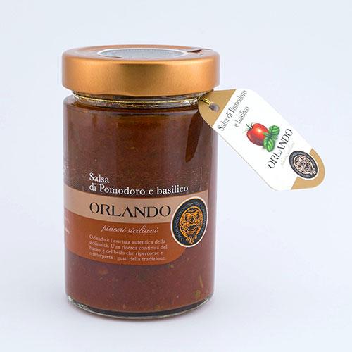 Tomato Sauce and Basil