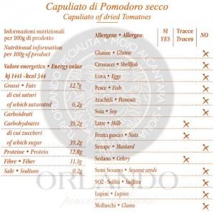 Capuliato di Pomodoro Secco vaso 220 gr