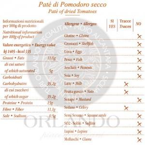 Patè di Pomodoro Secco vaso 220 gr